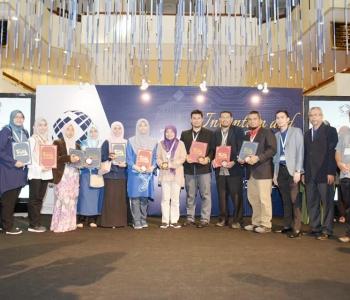Produk Penyelidikan UniSZA Raih Anugerah Khas di MTE 2019