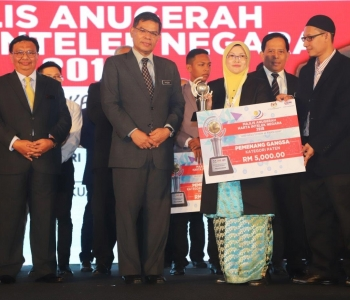 Automated Liquid Drug Dispenser Rangkul Anugerah Harta Intelek Nasional 2018